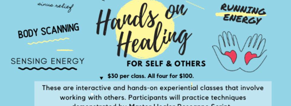 Healing Hands Class Series