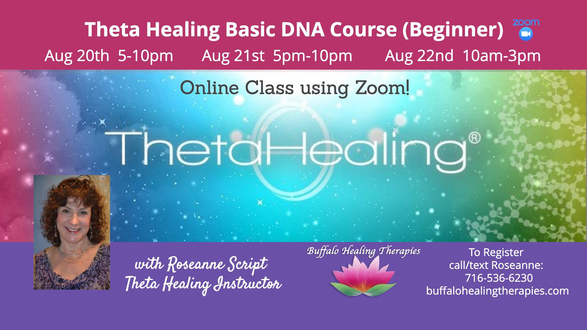 ThetaHealing DNA 1 - March 2020 Buffalo, NY