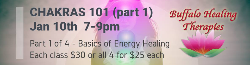 Chakras 101 Part1-of-2-Basics-of-Energy-Healing-Series-Buffalo-Healing-Therapies-960x250