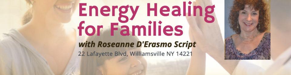 Energy Healing Families Buffalo NY