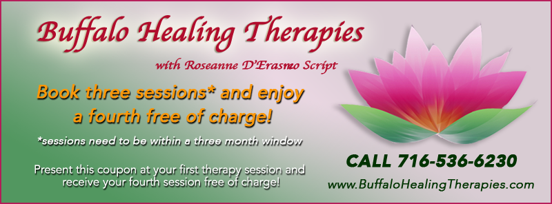 Healing Discount offered Buffalo Healing Therapies