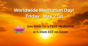 Free Meditation for Worldwide Meditation Day