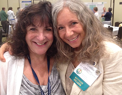 Roseanne Script and Cynthia Hutchinson at the Healing Touch Worldwide Conference